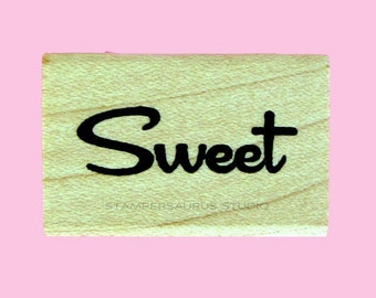 Sweet Rubber Stamp