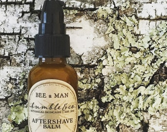 Aftershave Balm | Men's Shaving Gift | Herbal Aftershave | Aftershave Balm | Men's Aftershave Lotion | Natural Aftershave Balm | Wet Shaving