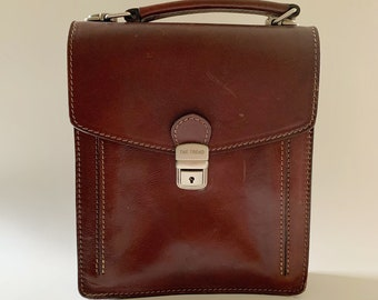 The Trend Made in Italy Leather Handbag Purse Vintage