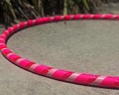 Beginner Hula Hoop // Pretty In Pink Dance Hoop // Handmade Fitness Hoop