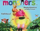 Kids Hula Hooping DVD // Molly and the Hoola Monsters DVD // Hoop Fitness for Kids // Children's Hoop Dance Tutorials