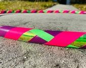 Bright Lights Hula Hoop // Beginner Hula Hoop // Handmade Fitness Hoop