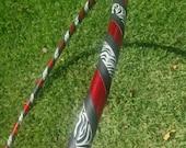 Glitter Zebra Hula Hoop // Beginner Hula Hoop