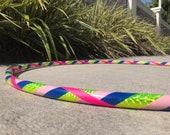 Color Me Happy! Hula Hoop // Beginner Dance Hoop // Handmade Fitness Hoop