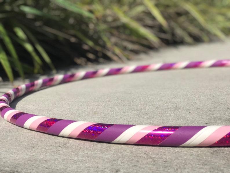 Beginner Hula Hoop // Raspberry Ringer Dance Hoop // Handmade image 0