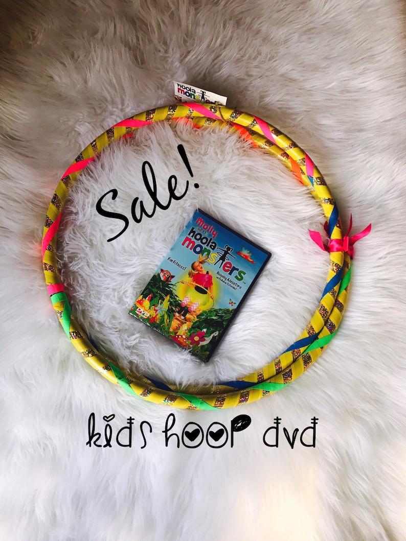Children's Hula Hoop & DVD Combo image 0