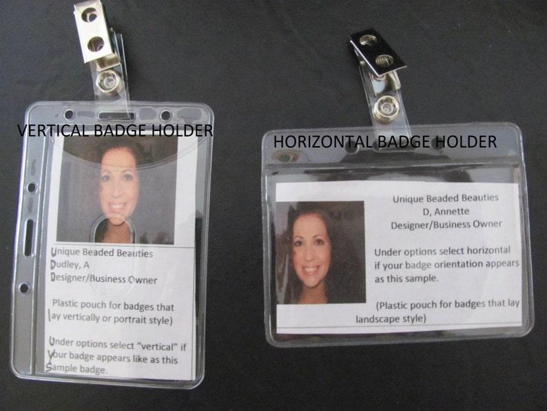 Bling Beaded Lanyard  id badge holder clear crystal lanyard teacher nurse lanyard gift