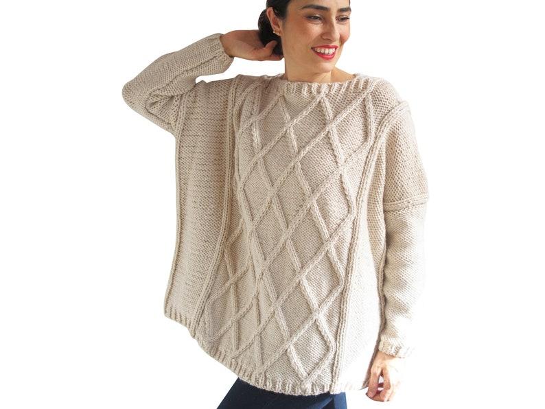 1f65a74641e1 Wool Knit Sweater Wool Jumper