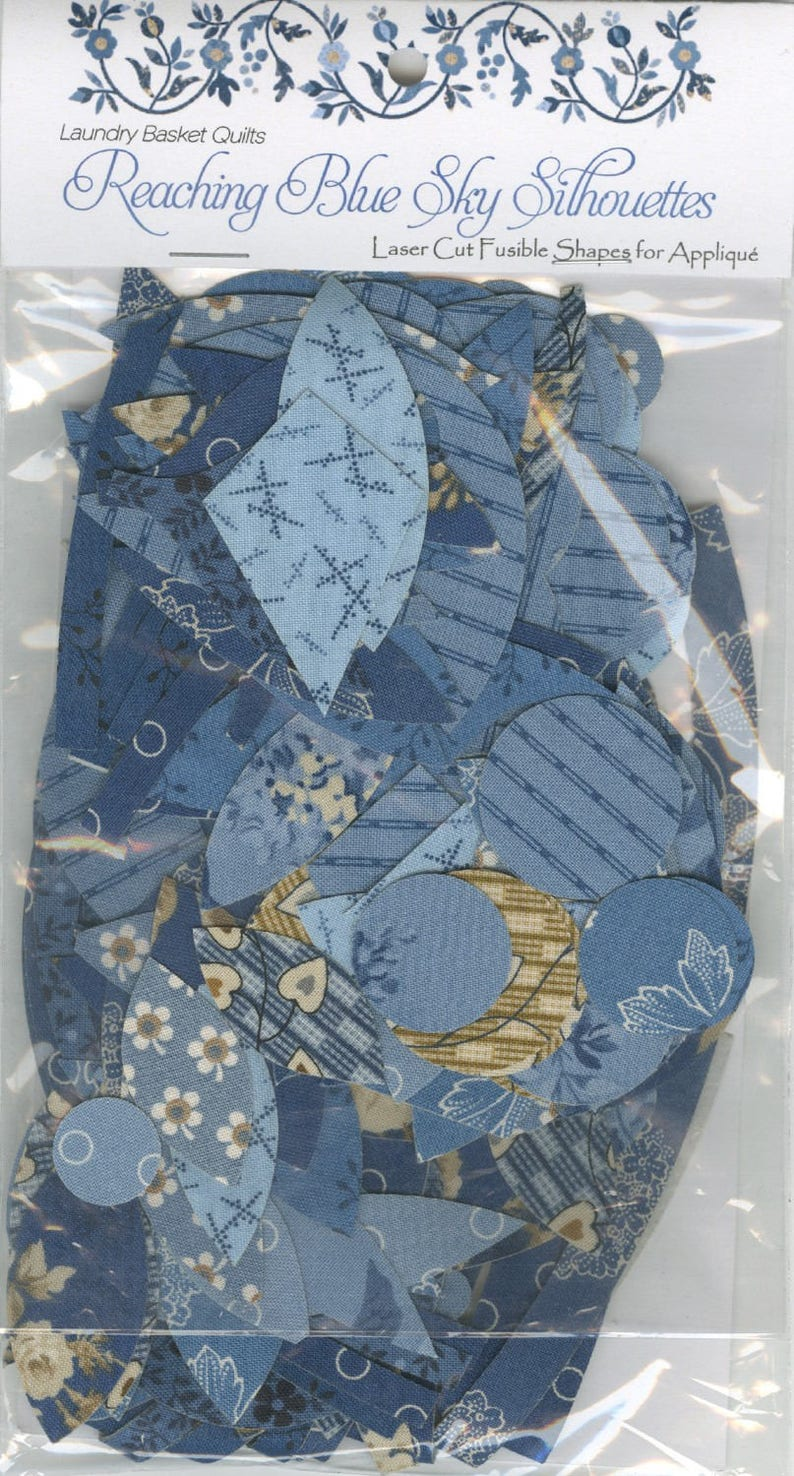 Reaching Blue Sky PATTERN Edyta Sitar Laundry Basket Quilt Andover Fabric Quilt Pattern featuring Blue Sky Fabrics LBQ-0629-P