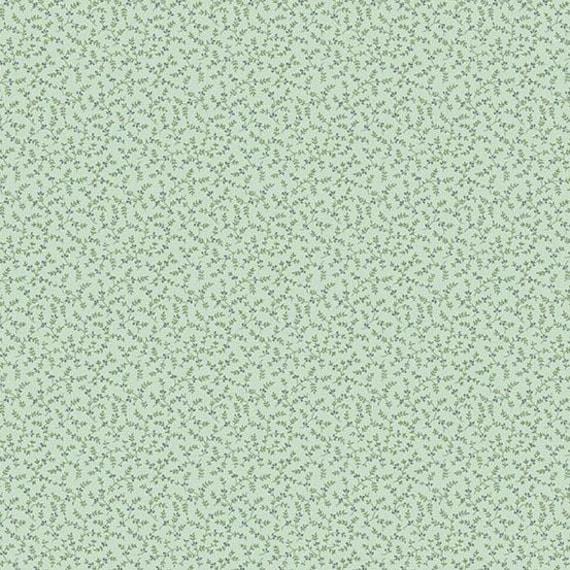Sonoma Fabric #8625-L1 Meadow Shirting Tiny Flowers Cream Quilt Shop Quality