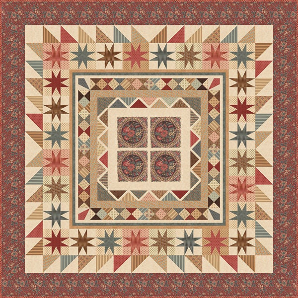 Collections de conservation conservation conservation pour une Cause de couette Kit - Collection de tissus de Reproduction Howard Marcus Moda - KIT46230 52672a