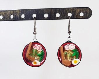 Ramen Bowl Earrings