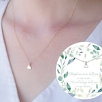 Bereavement Gift, Miscarriage Necklace, Tiny Heart Necklace, Condolence Gift, Pregnancy Loss, Sympathy Gift, Miscarriage Gift, Miscarry Gift