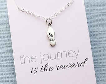 Workout Necklace | Running, Inspirational Running Gift, Fitness Jewelry, Marathon Gift for Women, Best Friend Gift for Her, Gifts for Mom |9