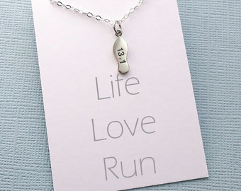 Fitness Jewelry | Running, Inspirational Running Gift, Workout Necklace, Marathon Gift for Women, Best Friend Gift for Her, Gifts for Mom |8