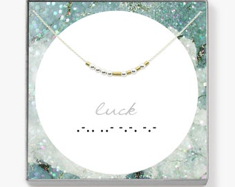 GIFTS • morse code