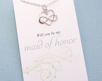 Maid of Honor Gift | Personalized Bridesmaid Gift, Bridesmaid Proposal, Bridesmaid Gifts, Bridesmaid Necklace, Bridesmaid Gift Box | B05