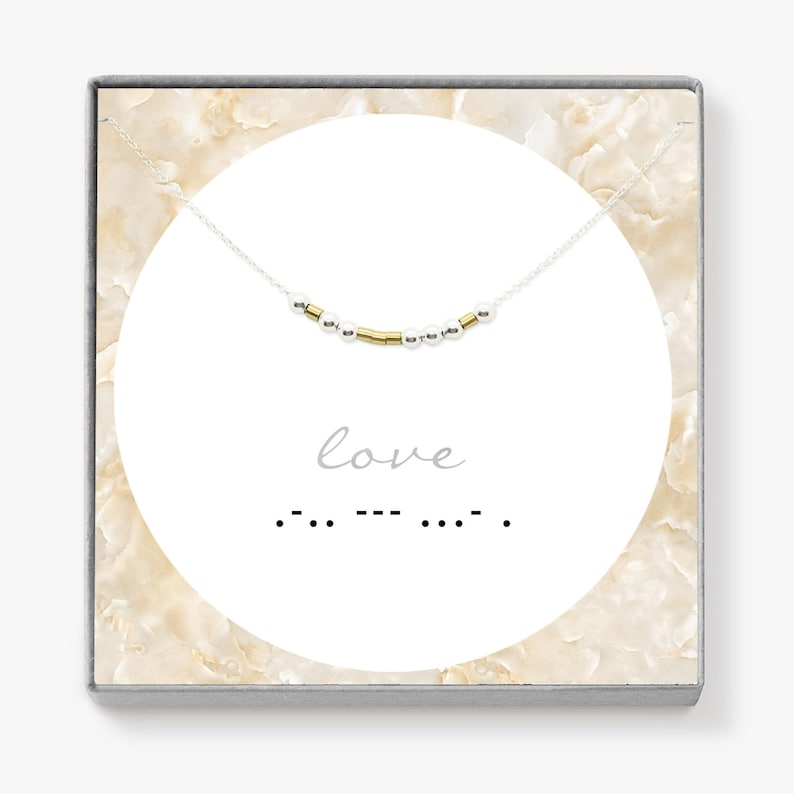 Custom Word Necklace Love Inspirational Gifts Morse Code Jewelry Custom Morse Code Necklace Inspirational Life Motto Necklace