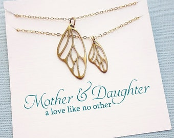 Mother Daughter Jewelry Set   Mother Daughter Gift Set, Gift for Mom, Mothers Day Gift, Mom Gift, Mom Necklace, Mommy and Me   MD04