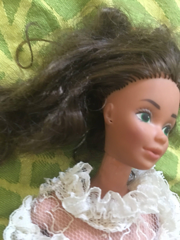 Salle De Bain Steffi Love ~ vintage poup e barbie tracy mari e mariage robe 1982 tnt