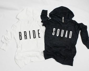 bridesmaid shirtsbridal showerbachelorette partyweddinggiftcrewbridal party burnout lightweight long sleeves