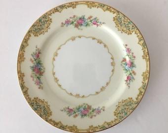 NORITAKE VERANDA Sandwich or Salad Plate CHINA 3015