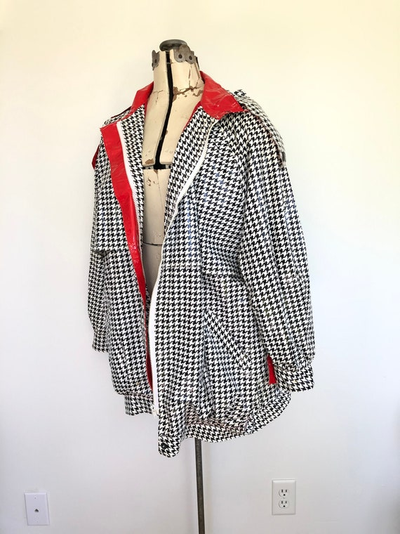 1980s Houndstooth Slicker Kenn Sporn for Wippette