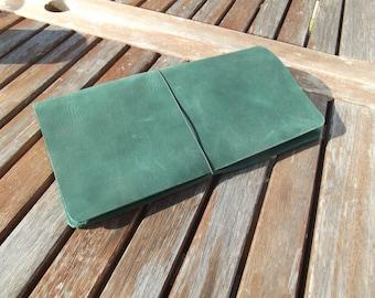 Standard Midori Size Traveller's Notebook Cover / Fauxdori - Comfort Fit - Genuine Full Grain Leather
