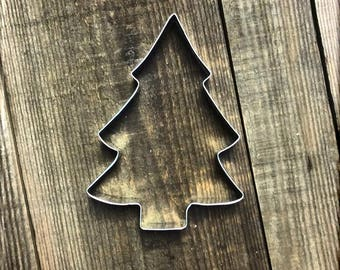 """5"""" Christmas Tree Metal Cookie Cutter #NA1010"""
