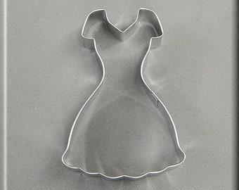 "4"" Dress Metal Cookie Cutter #NA8194"