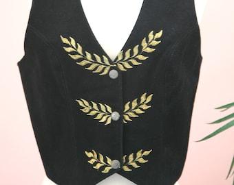 2fda7f2f40 Ladies Short Crop Crochet Trim Black Floral Sweater Crocheted