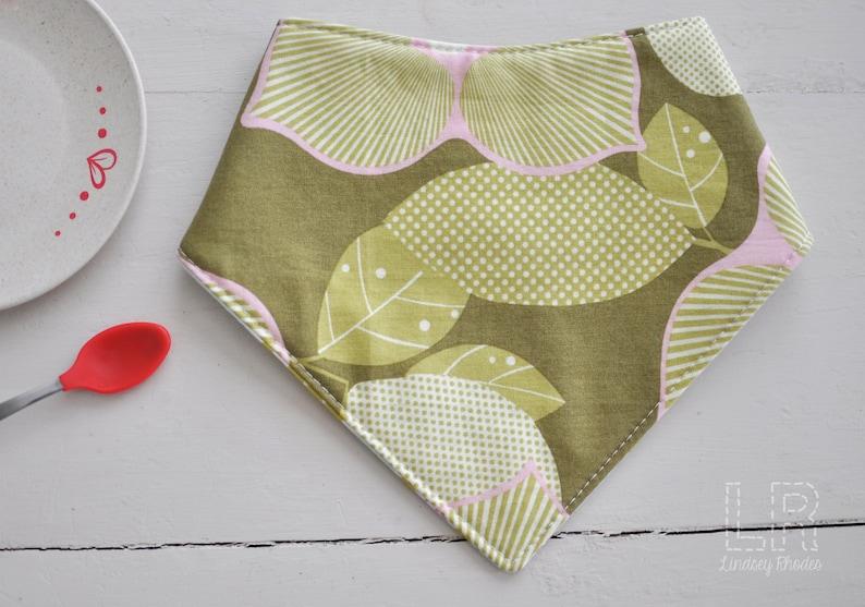 Bandana Bib Kerchief Bib Baby Bib Baby Shower Gift New Baby image 0