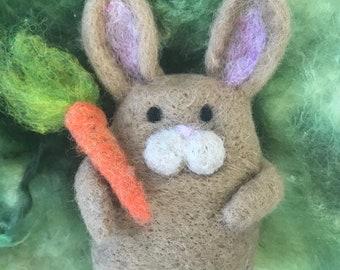 Rabbit Needle Felting Kit