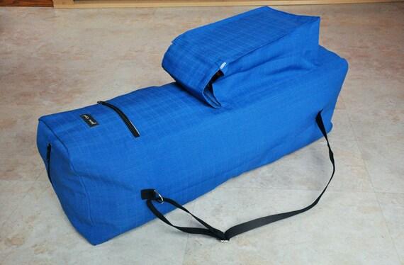 Extra Large Yoga Bag Royal Blue Yoga Mat Bag Unisex Yoga Mat Etsy