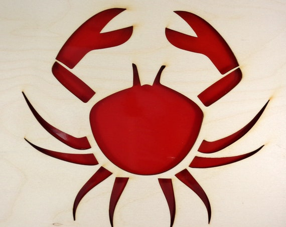 Crab Plywood and Recycled Aluminum