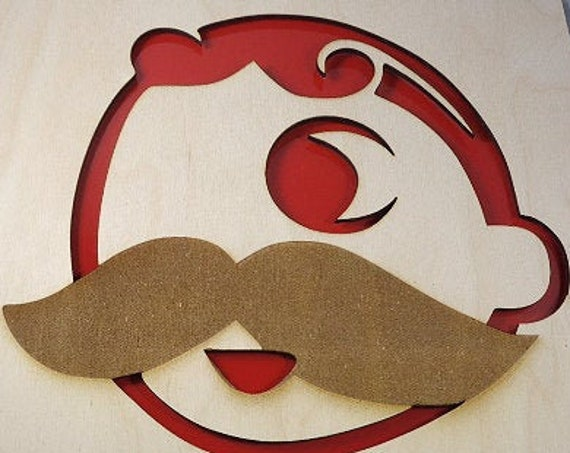 Natty Boh Plywood and Recycled Aluminum in Red