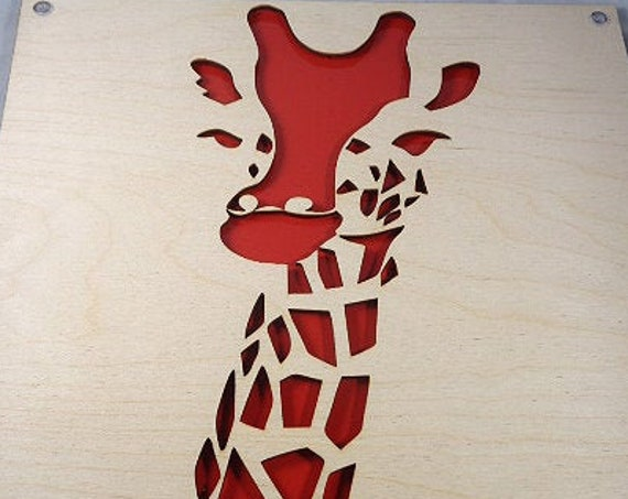 Giraffe Plywood and Recycled Aluminum