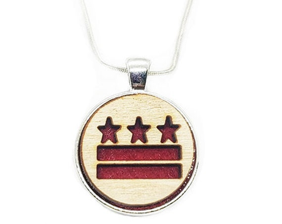 DC Stars and Bars pendant