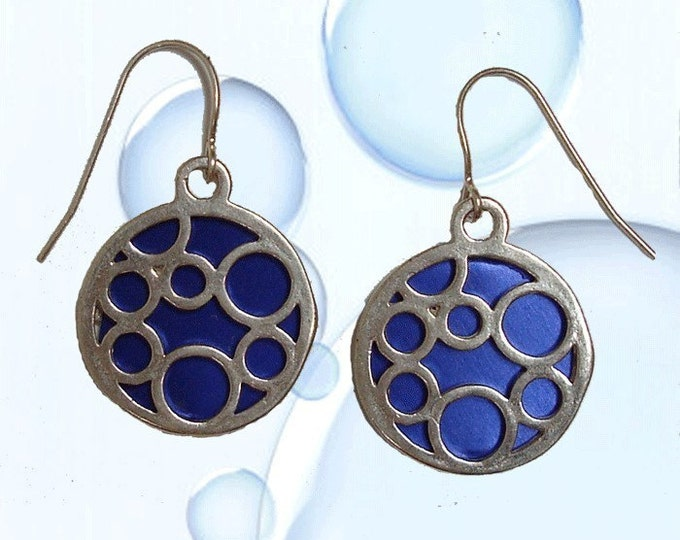 Medium round bubble earrings