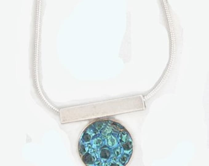 Caviar Roe Glass Pendant in Aqua