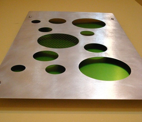 Metal Wall Art of recycled aluminum/stainless steel