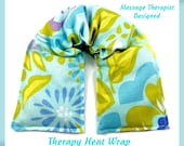 Natural Healing Neck Shoulder Heat Wrap- Hot Cold Therapy-Self Care Spa Kit-Gifts