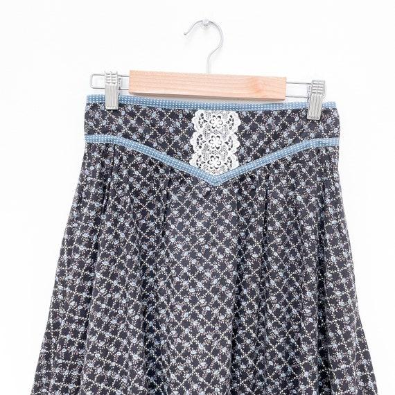 Gunne Sax Jessica's Gunnies Vintage Prairie Skirt… - image 3