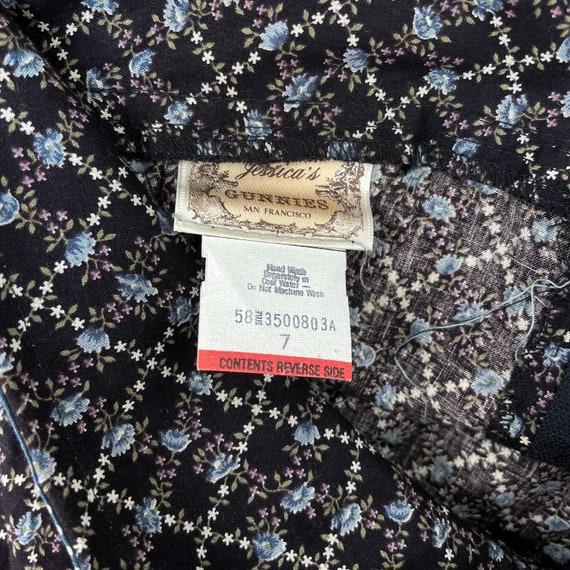 Gunne Sax Jessica's Gunnies Vintage Prairie Skirt… - image 7