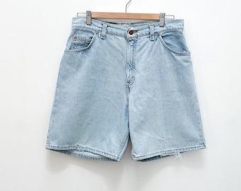 Vintage Levi's 951 High Waisted Denim Jean Shorts - Size 12