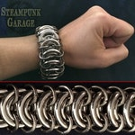 EXTREME 6g Steel Vertebrae Spine - HEAVY DUTY Stainless Chainmaille