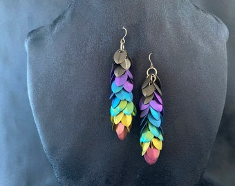 Titanium Earrings - LIGHTWEIGHT - Pick your colors!  Commercially pure and allergy free