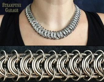12g Vertebrae - STRONG - Stainless Steel Spine Weave