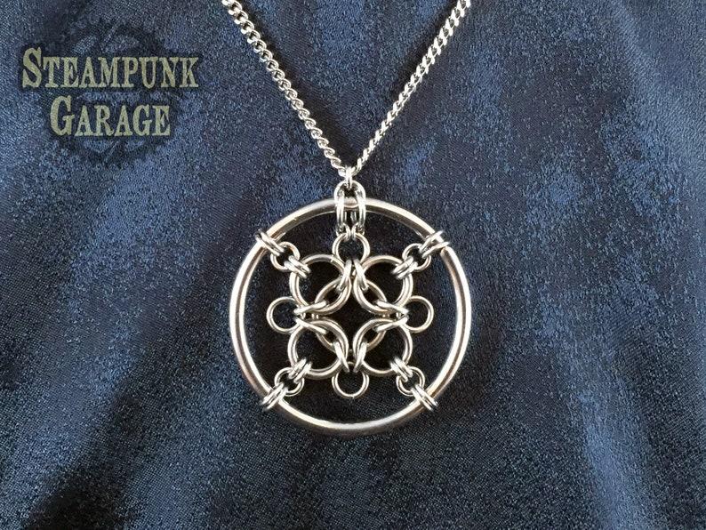 Aura 4 Medallion  Rigid Pendant Medallion image 0