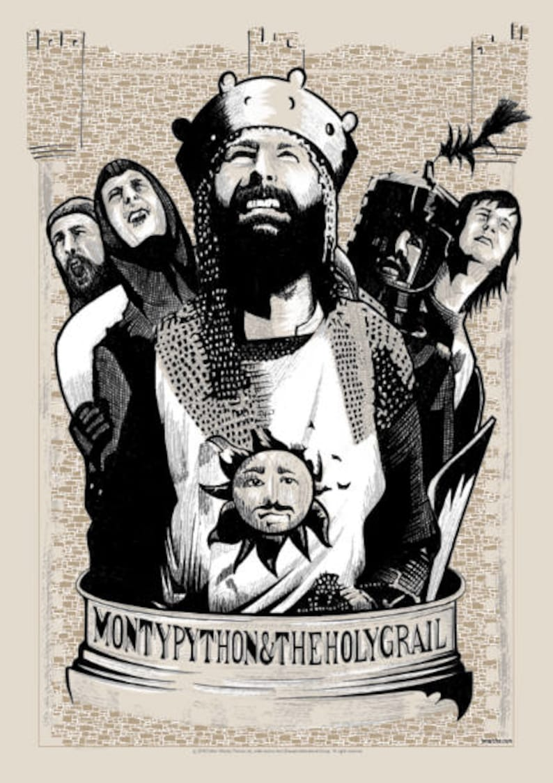 Official Limited Edition Monty Python and the Holy image 0